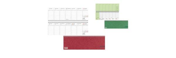 Tischquerkalender Querterminbuch