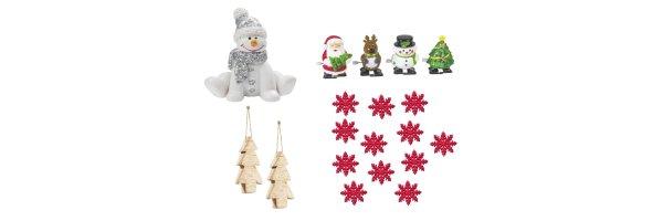 weihnachtliche Kleinteile, Streudekoration
