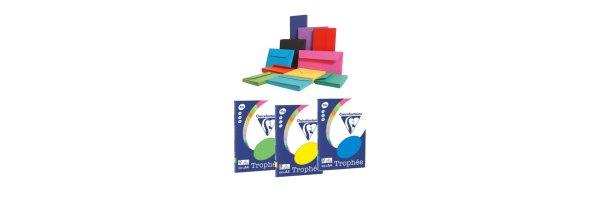 Farbige Papiere