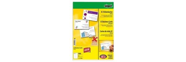 Visitenkartenscanner/-papier