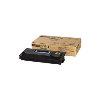 Kyocera Toner-Kit TK-715 schwarz mit ca. 34.000 Ausdrucken