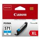 Canon 571XL Tintenpatrone cyan, 715 Seiten ISO/IEC 24711,...