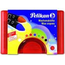 Pelikan Wachsmalstifte 665/8WF 8 dicke, runde Stifte