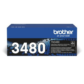 Brother TN-3480 Toner-Kit, 8.000 Seiten ISO/IEC 19752