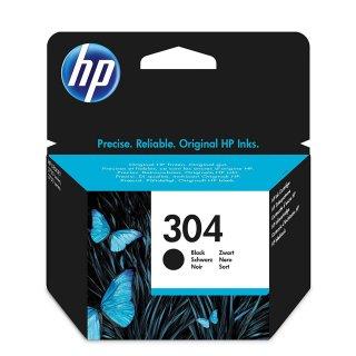 HP 304 Tintenpatrone schwarz, 100 Seiten/5%, Inhalt 4 ml