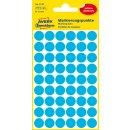 Avery Zweckform Markierungspunkte, blau, Ø 12mm,...