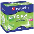 Rohling CD-RW 80 Min. 700MB 8-12-fach in Jewel Case