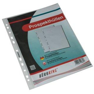 Büroring Prospekthülle A4 PP-Folie 60my genarbt VE = 100 St.