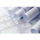 Plotter Papier 610mmx50m 80g ws Standard für...