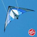 Lenkdrachen SHURIKEN Blue Sky MUSTHAVE, 120x60 cm, 2 bis...