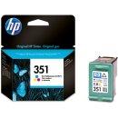 HP 351 Tintenpatrone color, 170 Seiten ISO/IEC 24711,...