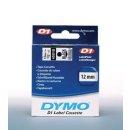 Schriftband 12mm/7m, DYMO 45014, blau auf weiß