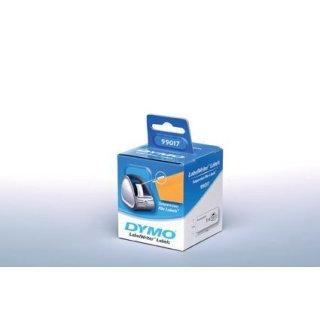 Etiketten für Hängeablage weiß 12x50mm, für LabelWriter