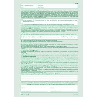 Arbeitsvertrag A4 2x2bl Selbstdurchschreibend Für Gewerbliche A