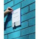 Info Sign Refill EDV-A4 Bögen ws für Info Sign...