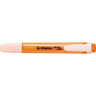 Textmarker STABILO swing cool 1-4mm, orange, mit Clip