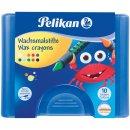 Pelikan Wachsmalstifte 655/10 10 runde Stifte mit...