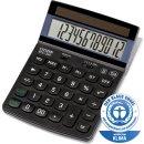 Citizen Taschenrechner ECC-310 12-stelliges Display, schwarz