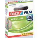 tesafilm Eco & Clear, 19mm x 33m transparent und...