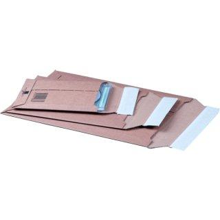 Versandtasche für A4+ Wellpappe braun hk m.Aufreißfaden Innenmaß: