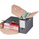 Archivbox für Hängemappen grau Innenmaß:...