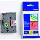 Schriftbandkassette TZE421 laminiert, 9mm breit/8m lang
