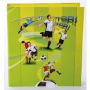 hochwertiger Motivordner, Design:Fussball /...