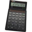 Tischrechner Eco 10, Solarbetrieb, schwarz, 10-stellig,...