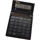 Tischrechner Eco 12, Solarbetrieb, schwarz, 12-stellig,...