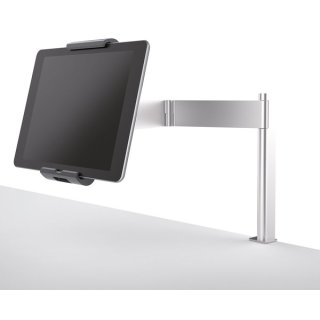 Tablet Holder Table Clamp, silber metallic, für Format 7-13 Zoll,