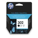 HP 302 Tintenpatrone schwarz, 190 Seiten  Inhalt 3,5 ml