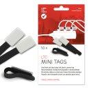 Label-The-Cable Mini 10er Set schwarz 10 kleine...