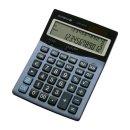 Tischrechner LCD-4312, stahlblau, 3-zeiliges LC-Display,...