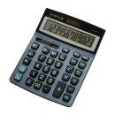 Tischrechner LCD-6112, stahlblau, 1-zeiliges LC-Display...