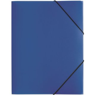 Gummizugmappe A4, 3 Klappen, Trend, dunkelblau