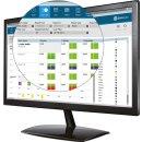 Software TimeMoto Plus für PC erf. Arbeitsstunden,...