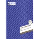 Avery Zweckform Inventurbuch 1101, A4 MP 50Blatt
