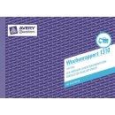 Avery Zweckform Wochenrapport 1310 A5 quer MP 100 Blatt