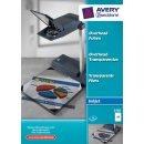 Avery Zweckform Inkjetfolie A4, 0,11 mm