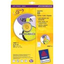 Avery Zweckform Inkjet ClassicSize CD-Etiketten, 117mm,...