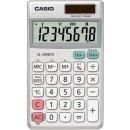 Taschenrechner, SL-305ECO, silber 8-stelliges Display,...