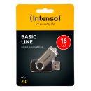 Speicherstick USB Drive 2.0, 16 GB Basic Line, drehbarer...