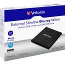 Portabler Slimline Blu-ray/MDic Brenner mit USB 3.0, 25...