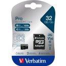microSDHC Speicherkarte, 32 GB, PRO Class 10, U3, UHS-I,...