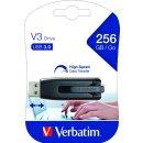 Speicherstick, USB 3.0, 256 GB, V3 grau, StorenGo