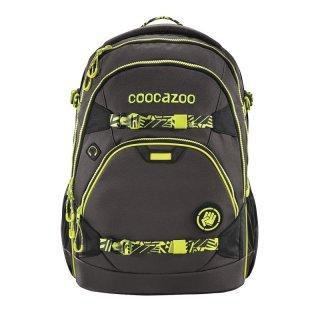 COOCAZOO Schulrucksack ScaleRale TecCheck Neon Yellow