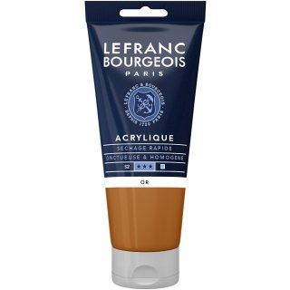 LEFRANC & BOURGEOIS Acryl Fine 80ml Tube Fb.:700 gold