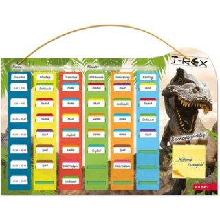 Roth Klipp+Klar Der Stundenplan! Motiv Tyrannosaurus