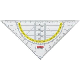 Brunnen Geometrie-Dreieck 16cm bruchsicher glasklar