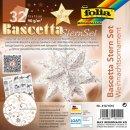 Bascetta-Stern Set, 15x15cm, 32Blatt, Designpapier,...